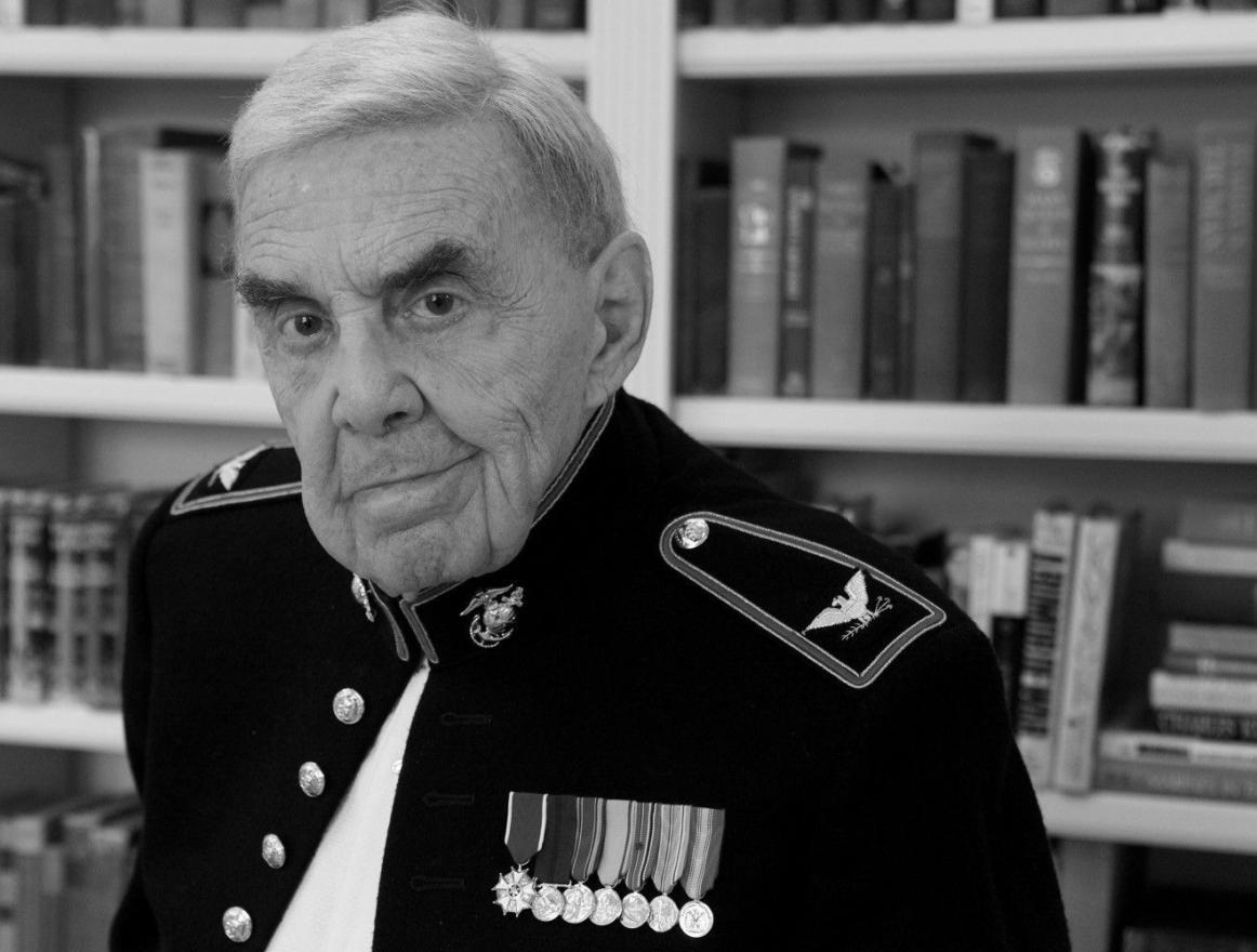 Ret. Marine Colonel Ernest Frankel