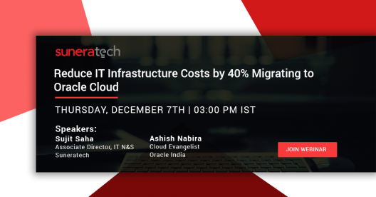 Live webinar on how to reduce IT infrastructure co
