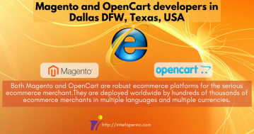 Magento and OpenCart developers in Dallas DFW, Tex