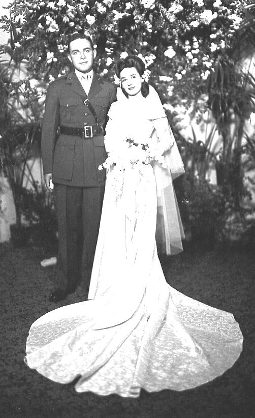 Wedding Photo - Ernest & Louise Frankel, 1944
