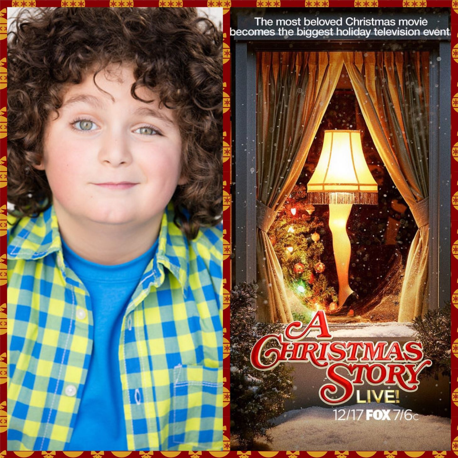 ELIE SAMOUHI AS GROVER DILL IN A CHRISTMAS STORY L