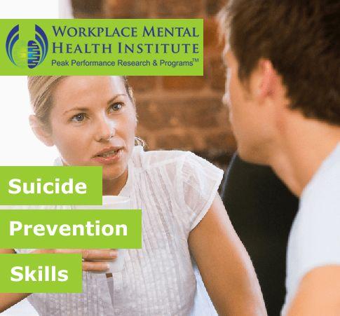 Suicide Prevention Skills banner