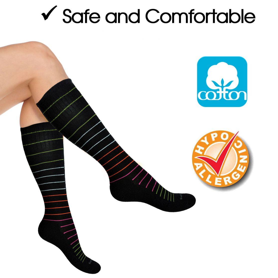 cotton compression socks SocksLane