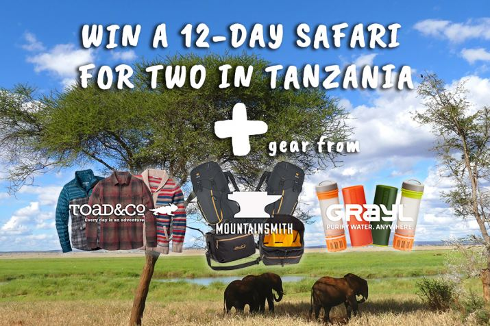 Win a safari for two!