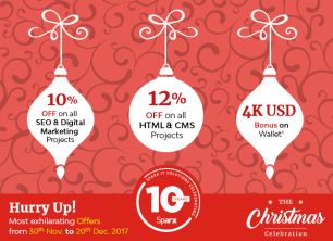 Christmas Celebration And Offer On Sparx