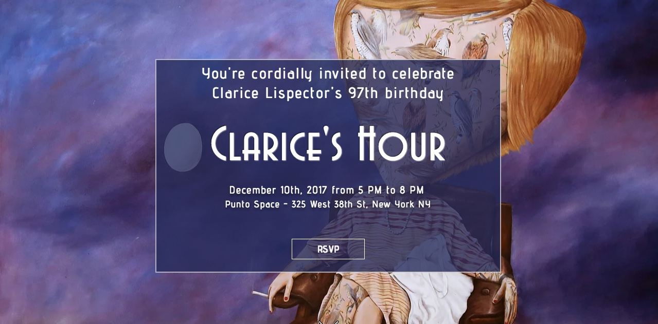 Clarice's Hour has been celebrated globally for six years.