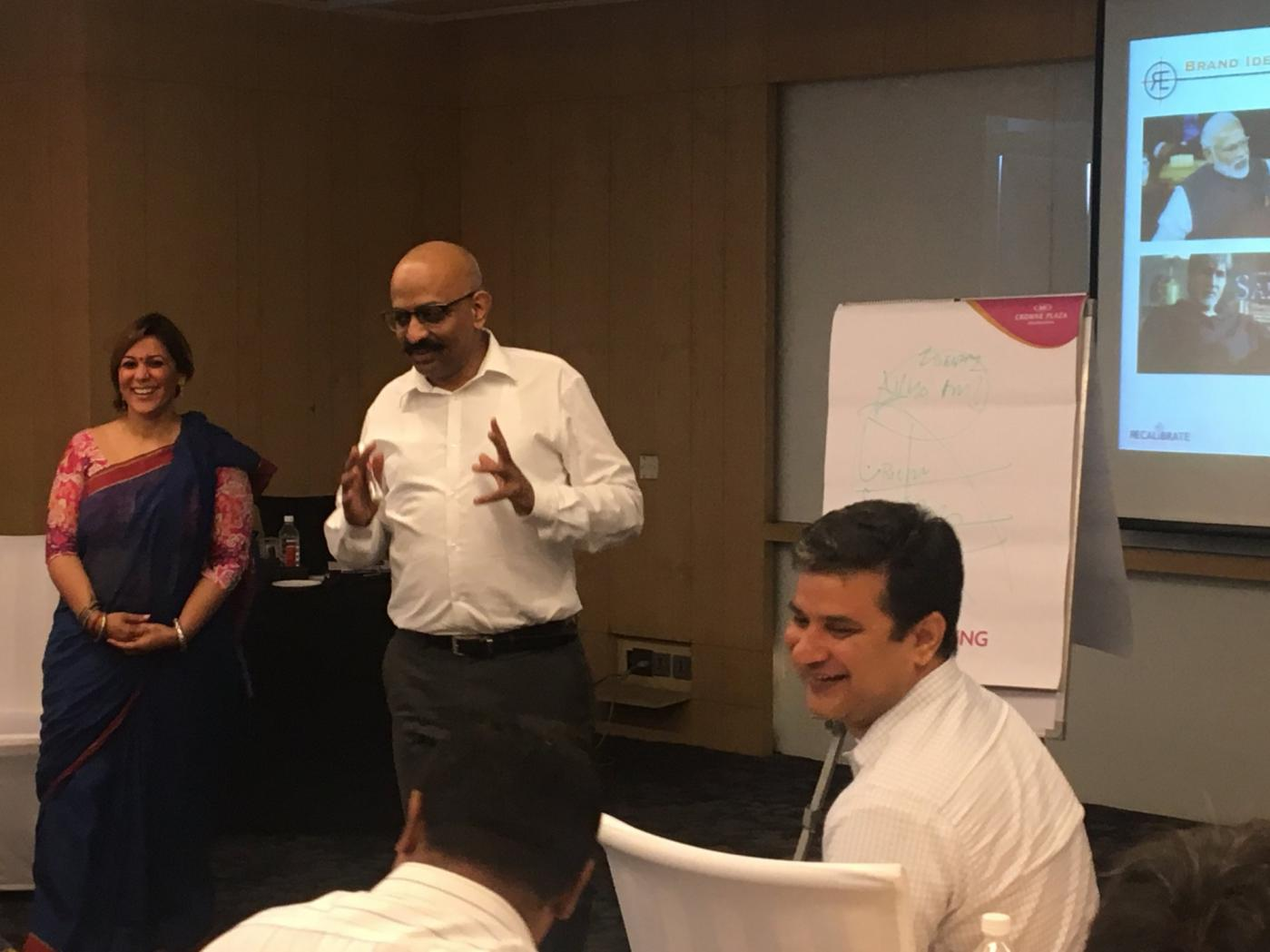 Recalibrate CEO Coaching Workshop in Session