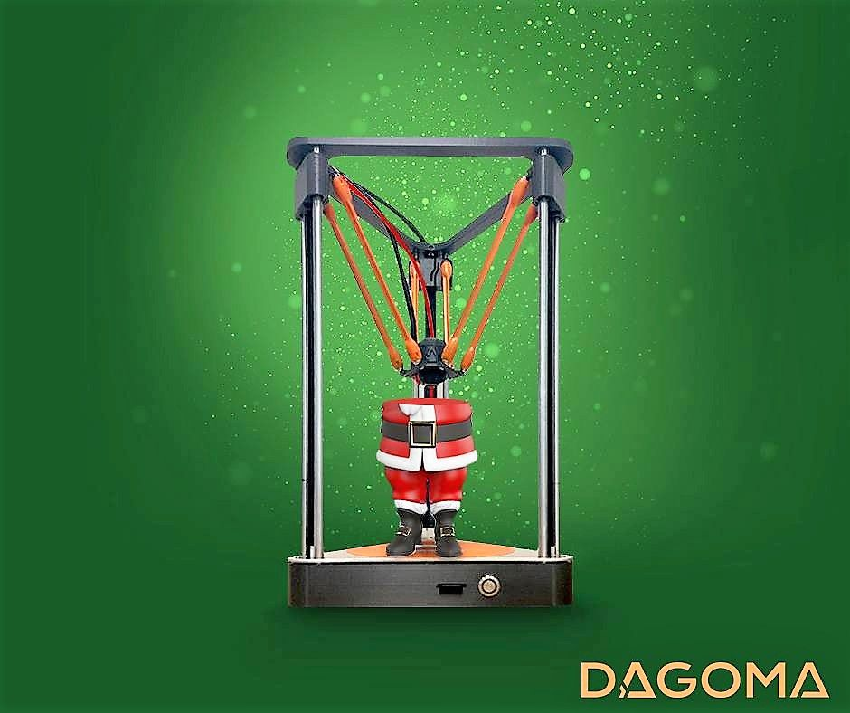Neva 3D Printer helps Santa this year and saves you more than $1000 on gifts