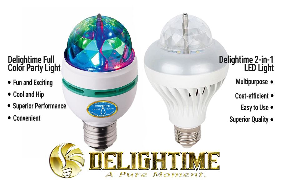 Catch the Delightime Party Lights on Amazon.com!