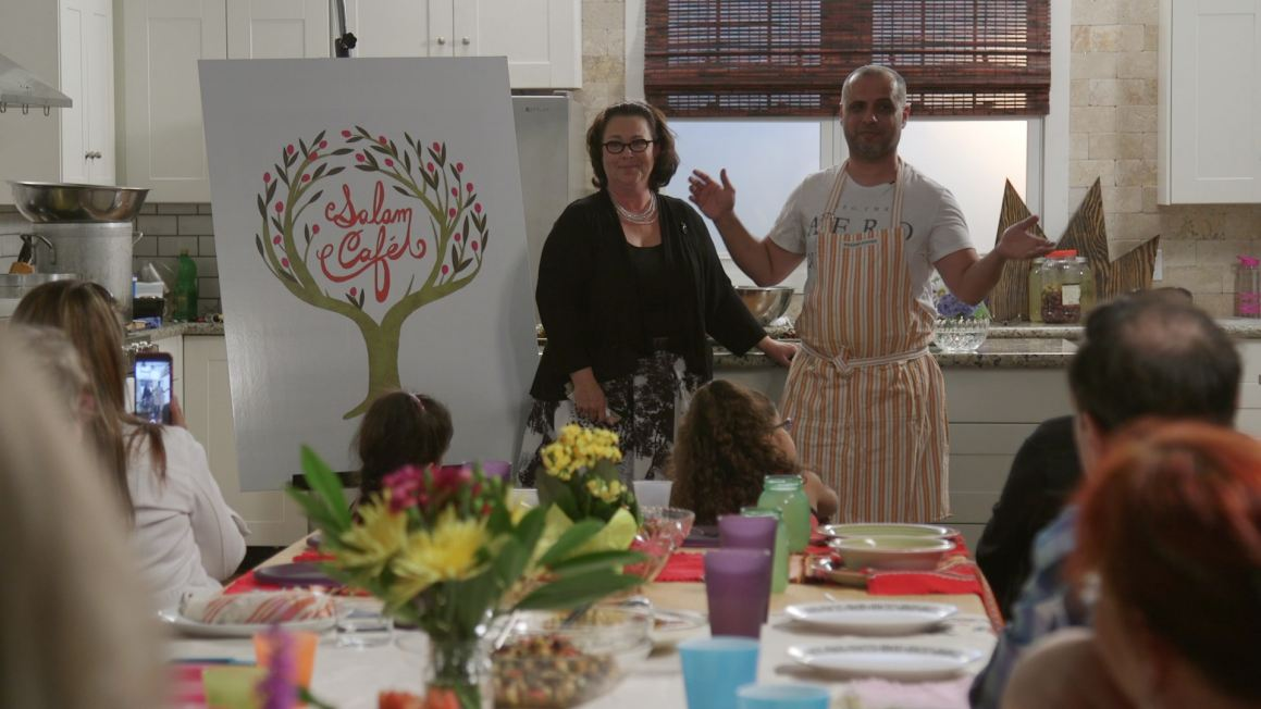 Chef Ehab & His Friend Diane Announce Salam Cafe