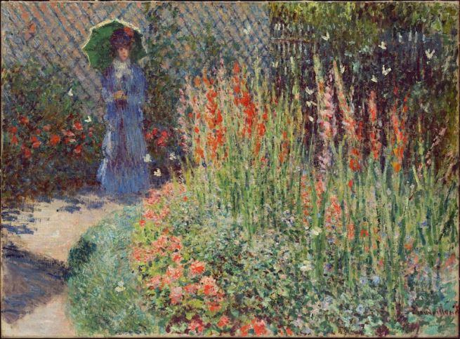 rounded_flower_bed_corbeille_de_fleurs_1876_claude