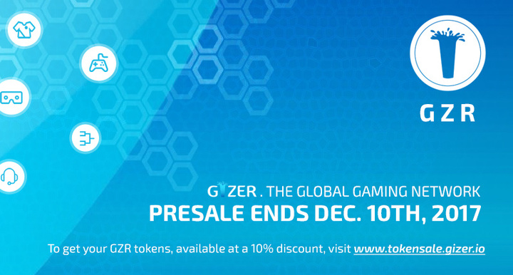You can get your GZR today, but don't wait, presale ends December 10th!