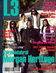 L3 Magazine - 2017 - December ft. Morgan Heritage