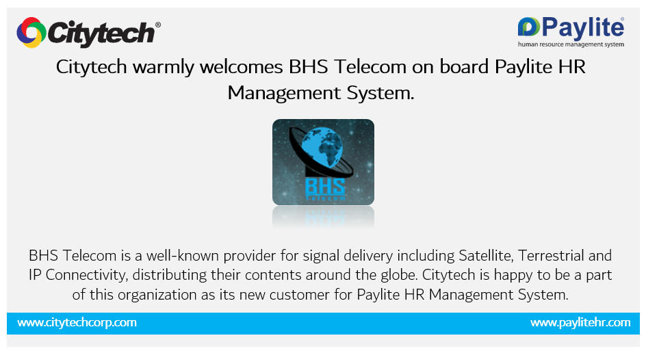 BHS Telecom signs contract with Citytech