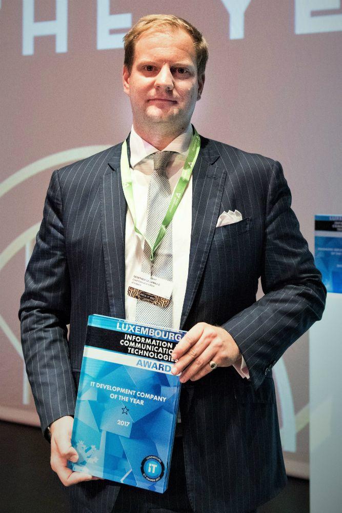 Geoffroy de Lamalle, CEO, eProseed