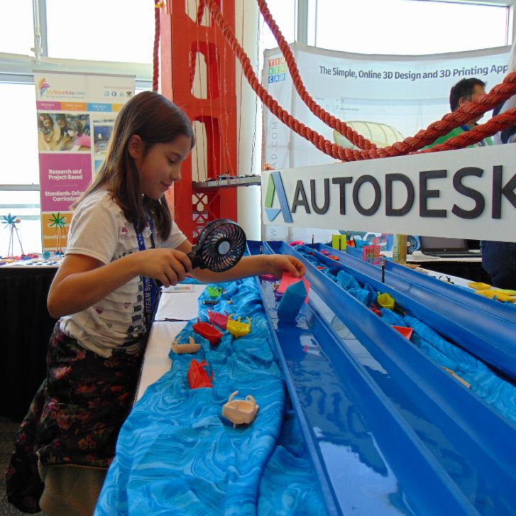 MyStemKits with Autodesk at California STEAM Symposium