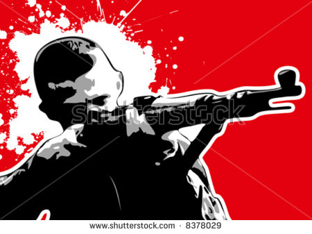 stock-vector-the-red-series-grungy-vector-sniper-8