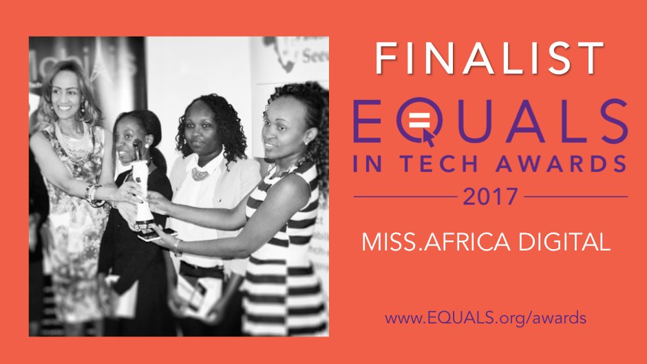 ITU EQUALSinTech Award Finalists Miss.Africa Digital Program