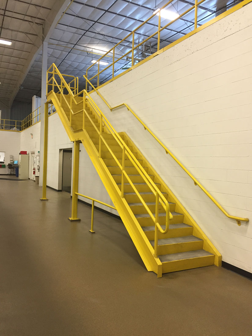 Badger Sheet Metal Works mezzanine platforms