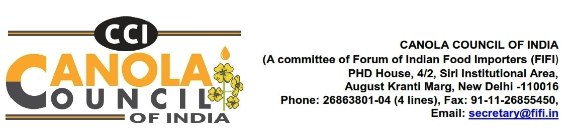 PRESS RELEASE CANOLA COUNCIL OF INDIA_001