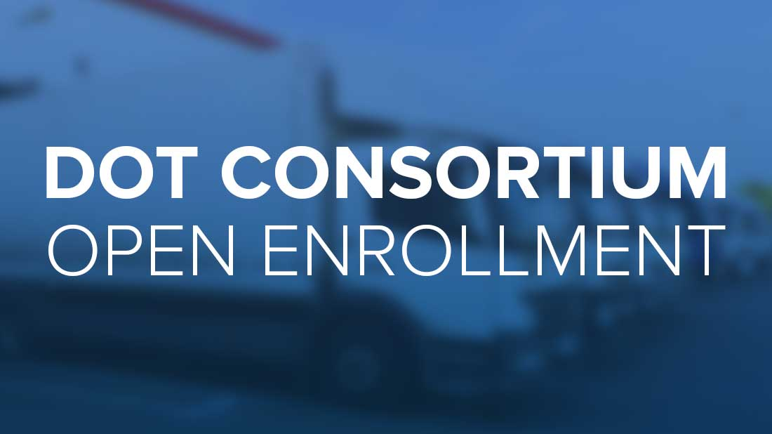 DOT Consortium- pen enrollment