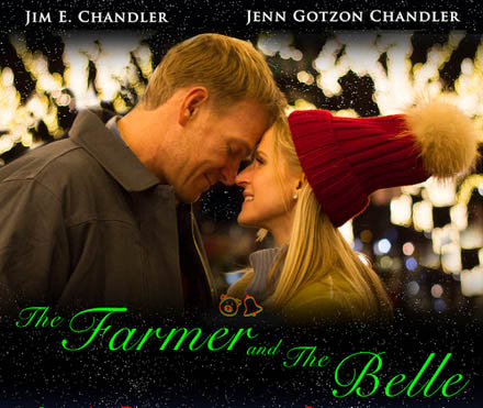 the farmer and the belle a christmas movie starring newlywed award winners - All I Want For Christmas Hallmark Movie