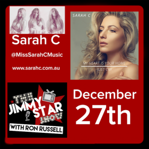 Sarah C On The Jimmy Star Show With Ron Russell
