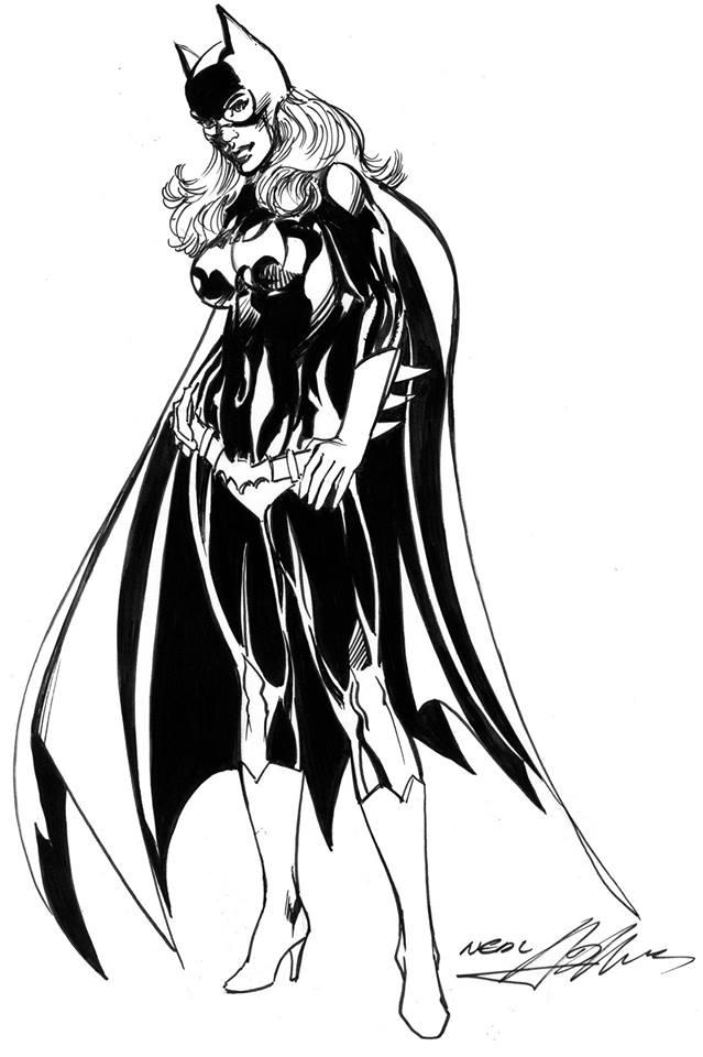Neal Adams Batgirl