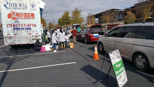 America Recycles Day 2017 at Coolray Field in Lawrenceville, GA