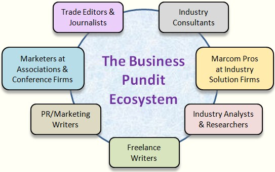 The business pundit ecosystem
