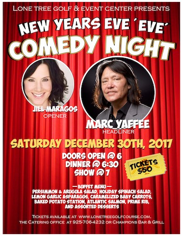 New Years Eve Ever Comedy Night 2017