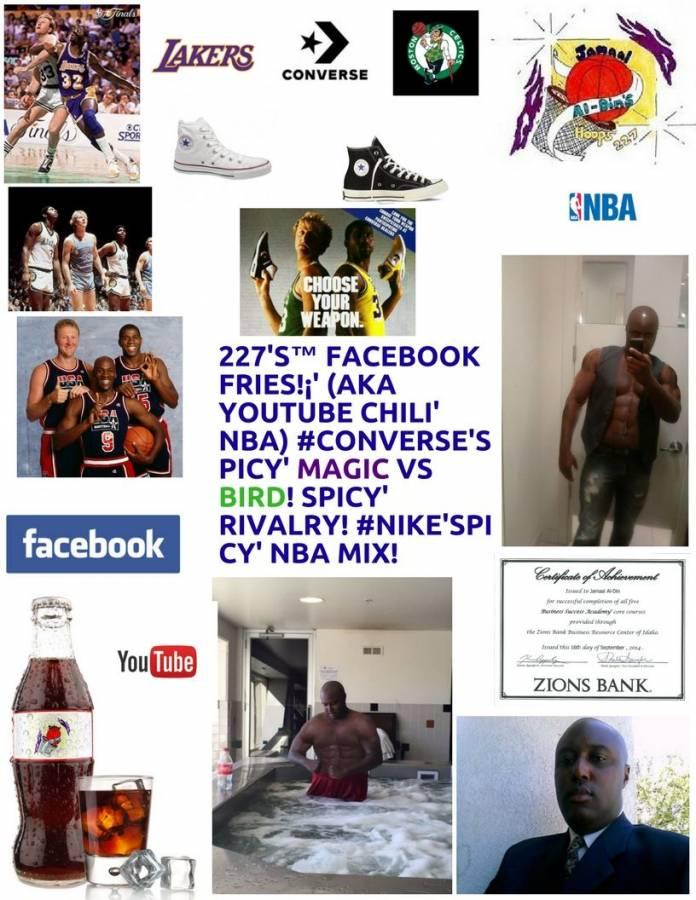 227's™ Facebook Fries!¡' (aka YouTube Chili' NBA) Spicy' MAGIC vs Chili' BIRD