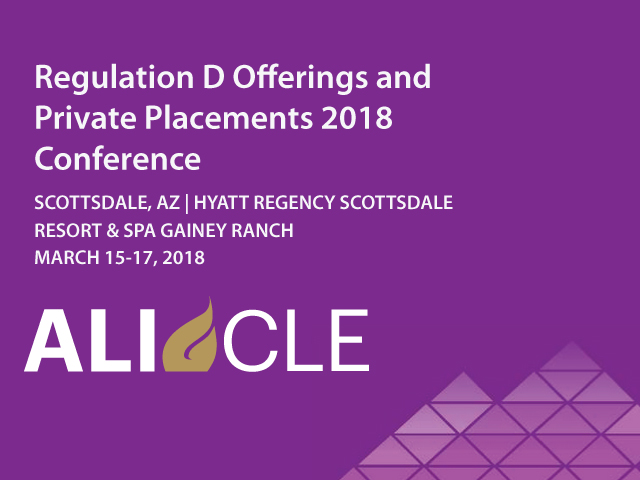 Regulation D Offerings and Private Placements 2018