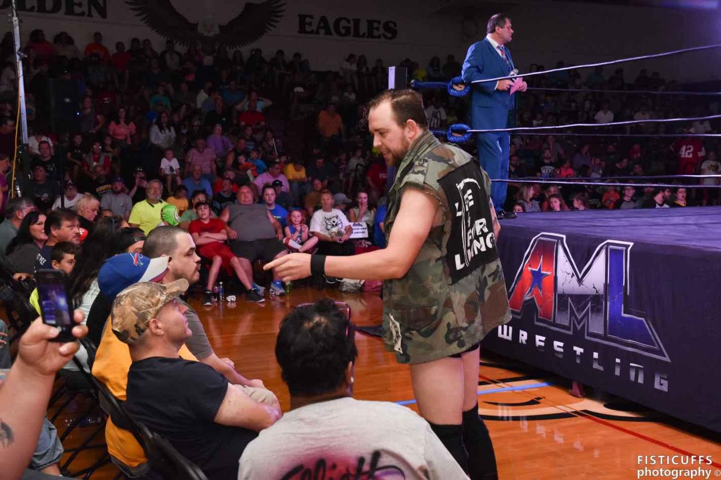 Billy Brash Taunt The AML Wrestling Crowd