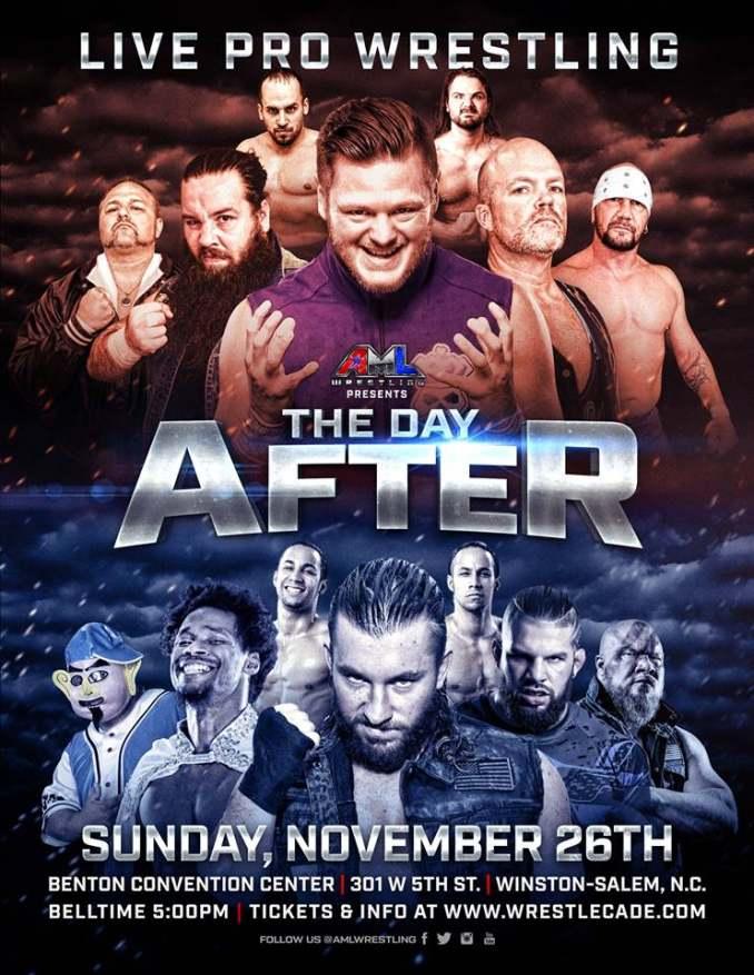AML Wrestling in Winston-Salem, NC