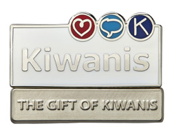The Gift of Kiwanis Honorary Pin