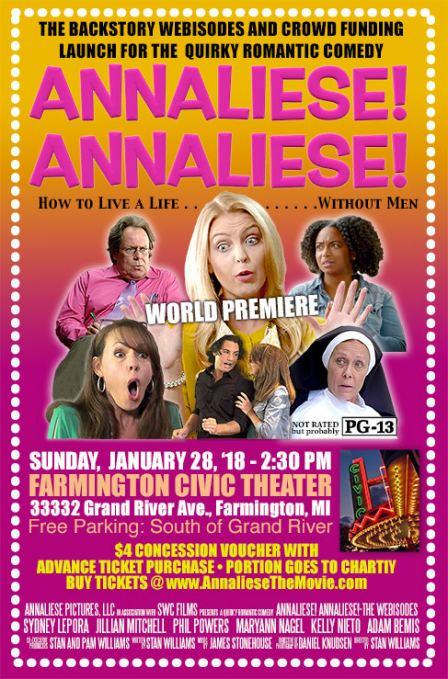 Annaliese! Annaliese! Movie Poster