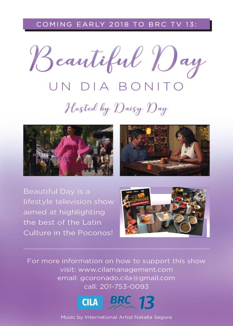 Beautiful Day/ Un Dia Bonito Host Daisy Day Rodriguez- Diaz