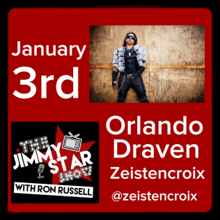 Orlando Draven (Zeistencroix) On The Jimmy Star Show With Ron Russell