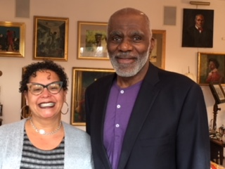 BMR Host Lissa Jones with author Justice Alan Page