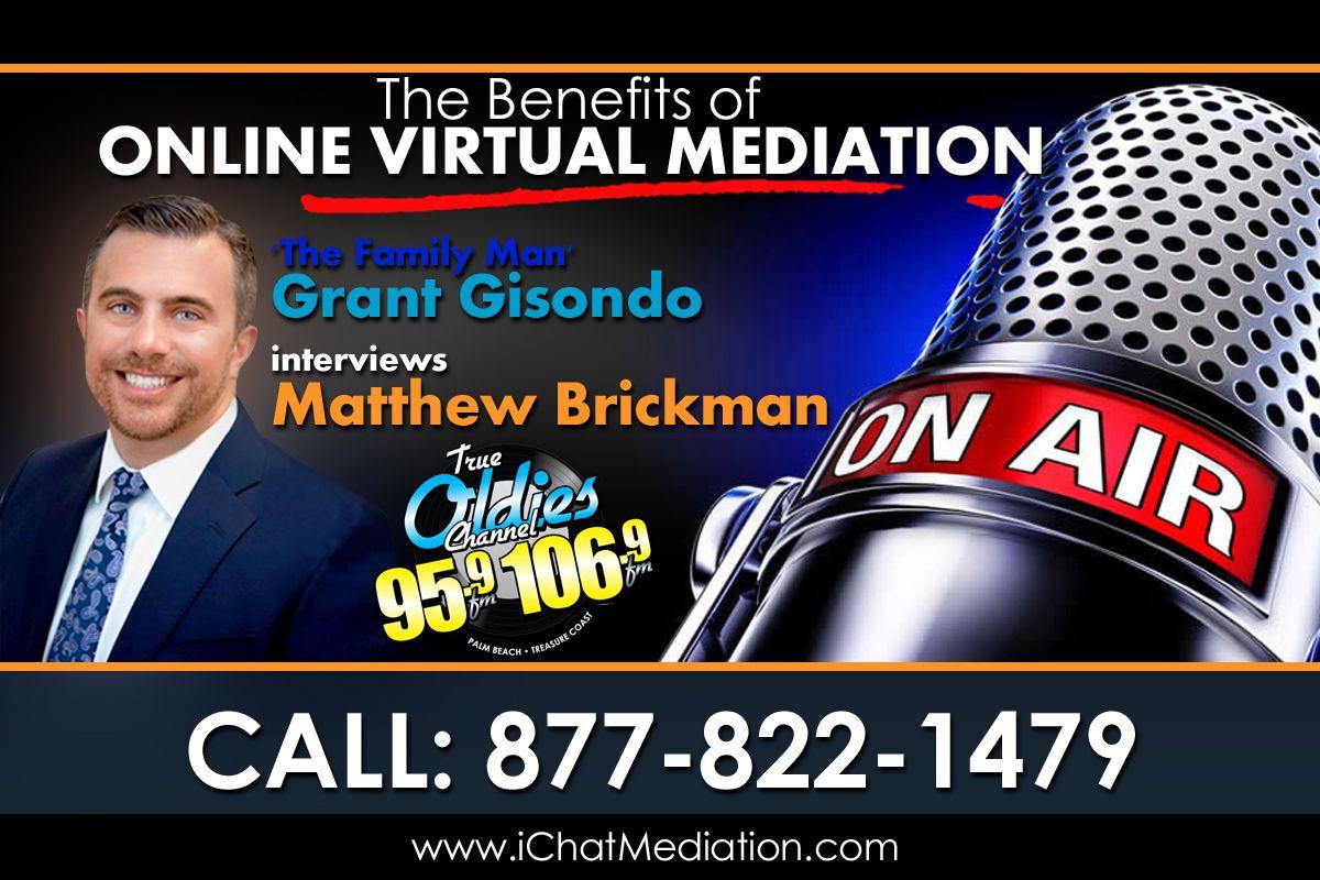 Benefits of Online Virtual Mediation - Matthew Brickman
