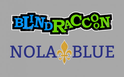Blind Raccoon and Nola Blue Partnership