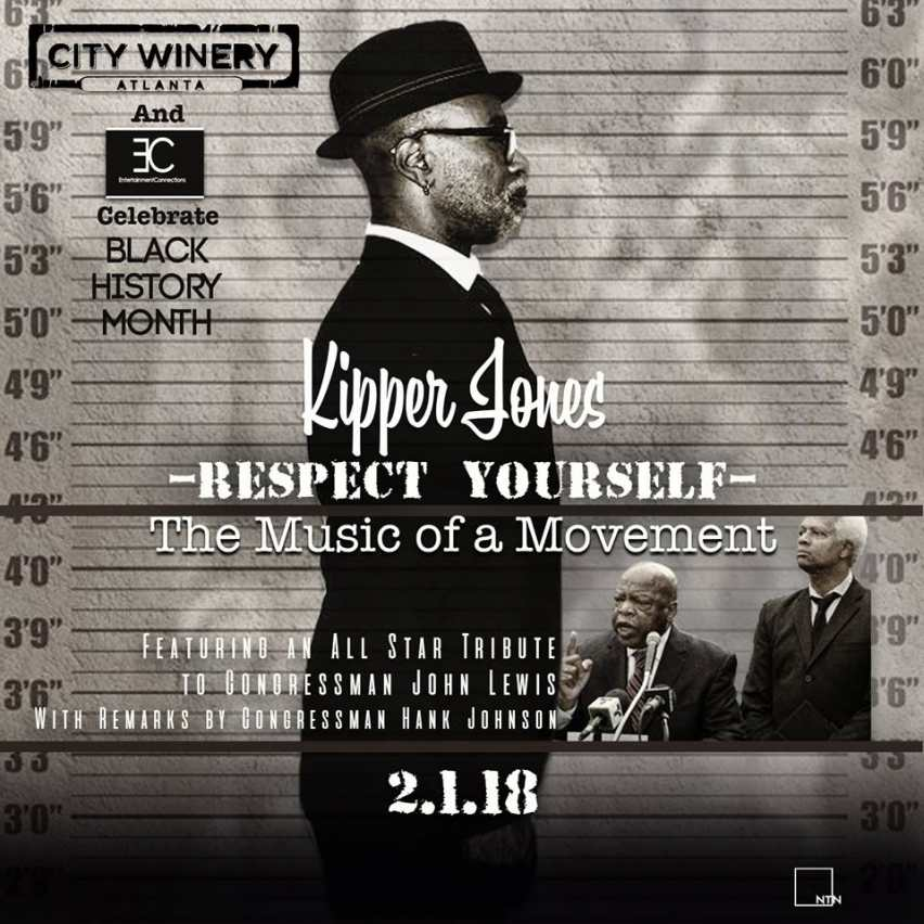 Kipper Jones - Respect Yourself Flyer