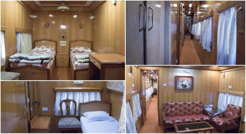 Indian Railways- Luxury Saloon Coach
