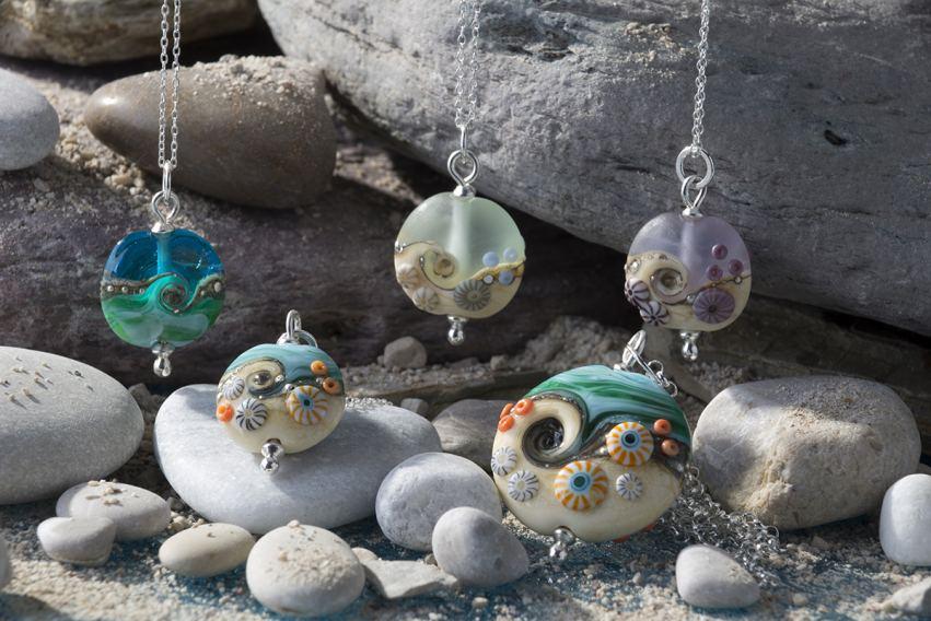 2. Beach Babe pendants