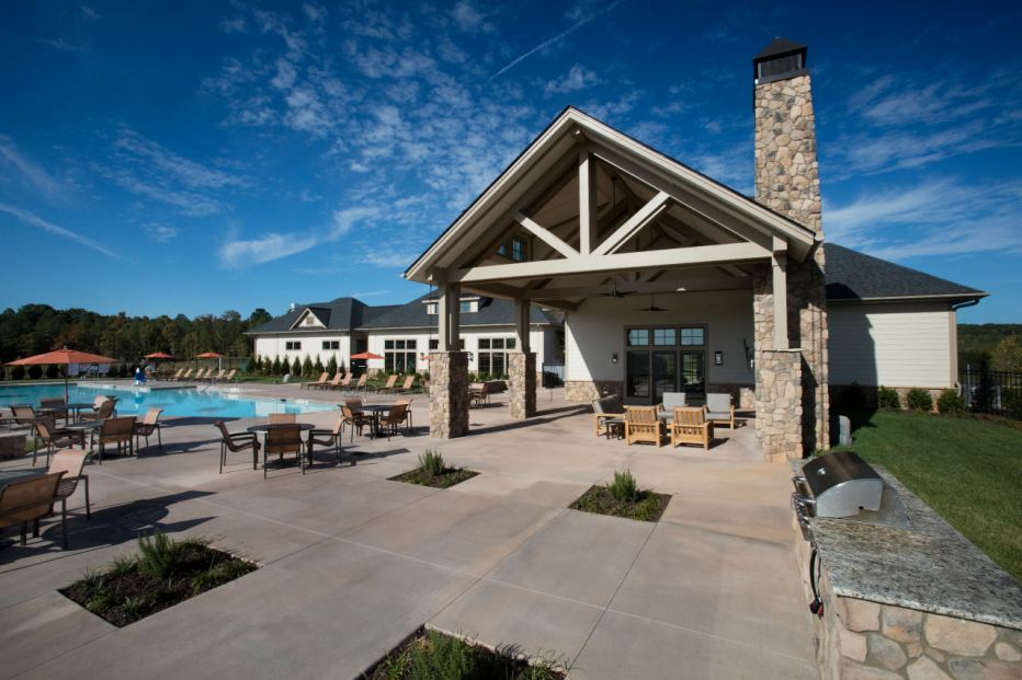The Legacy at Jordan Lake amenity complex