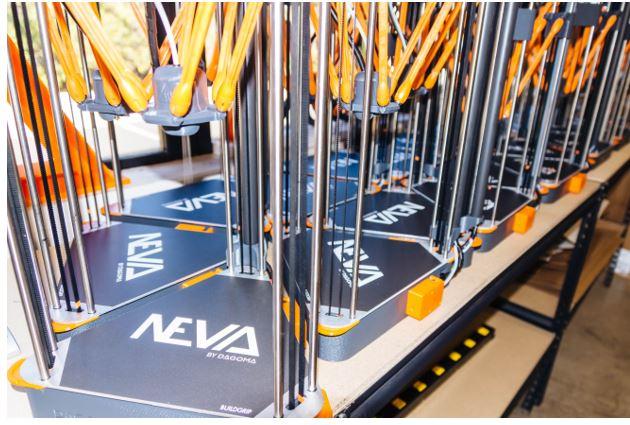 NEVA 3D Printers from Dagoma USA