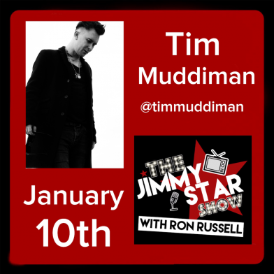 Tim Muddiman on The Jimmy Star Show With Ron Russell