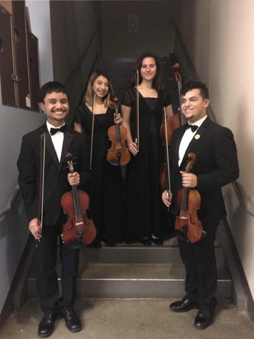 Mt. Eden High String Quartet
