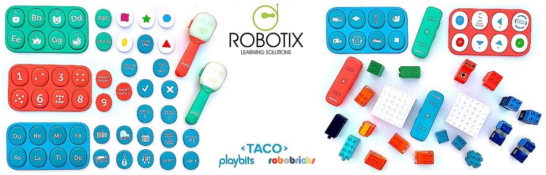 RBTX-TACO Playbits & Robobricks